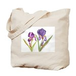 Purple Iris by Wendy C. Allen Tote Bag