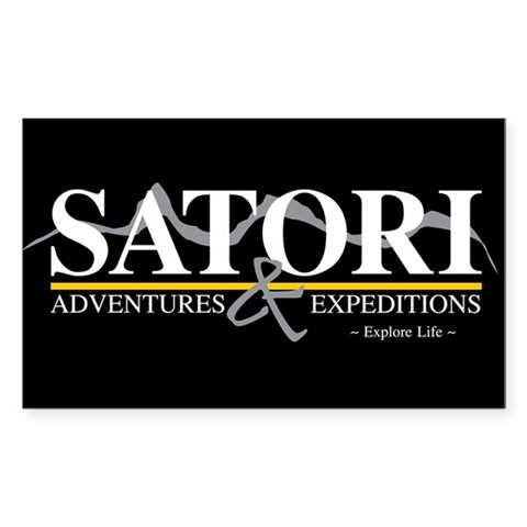 Satori Adventures amp; Expeditions  Rectangle Sticker 10 pk by CafePress
