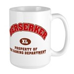 Berserker!  Property of the Gaming Department. You are one of the few, the proud, the berserk!