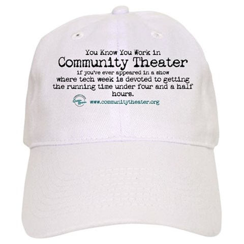 - Tech Week Humor Cap by CafePress