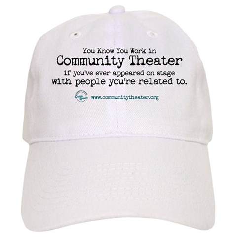 - Relative on Stage Humor Cap by CafePress