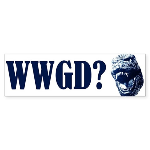 WWGD? Entertainment / pop culture Bumper Sticker 50 pk by CafePress