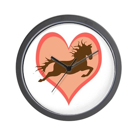 Horse In My Heart Wall Clock