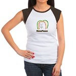ThreePeace Rasta Women's Cap Sleeve T-Shirt