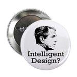 Bush: Intelligent Design? Button