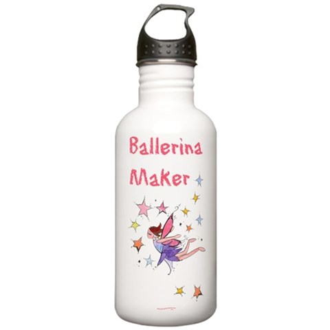 - Ballerina Maker Dance Stainless Water Bottle 1.0L by CafePress