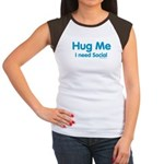 Hug me: I need Social. Your Sims aren't the only creatures who need hugs! Get your social up even when you're not online.
