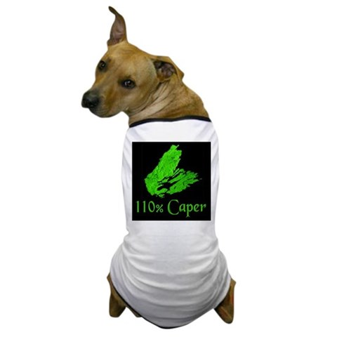 110 Caper  Cool Dog T-Shirt by CafePress
