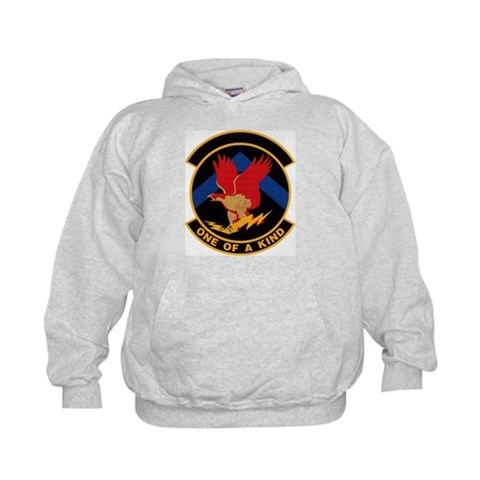 319th Training Squadron  Military Kids Hoodie by CafePress