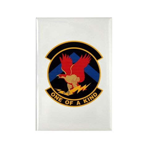 319th Training Squadron Rectangle Magnet 100 pack Military Rectangle Magnet 100 pack by CafePress