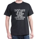 Life Is Simple Eat Sleep And Contempo T-Shirt