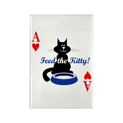 Cats Playing Poker Magnet