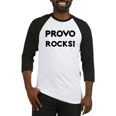 Provo Rocks! Baseball Jersey