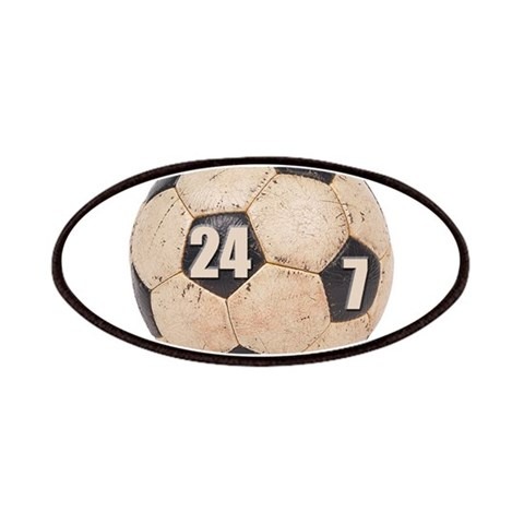 24/7 Soccer  Sports Patches by CafePress