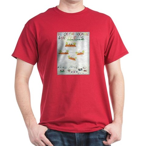 - Be On The Lookout For UFOs Ufo Dark T-Shirt by CafePress