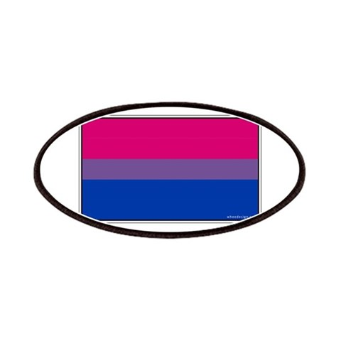 Bi-Sexual Pride Flag  Gay Patches by CafePress