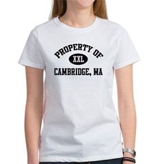 Property of Cambridge Women's T-Shirt