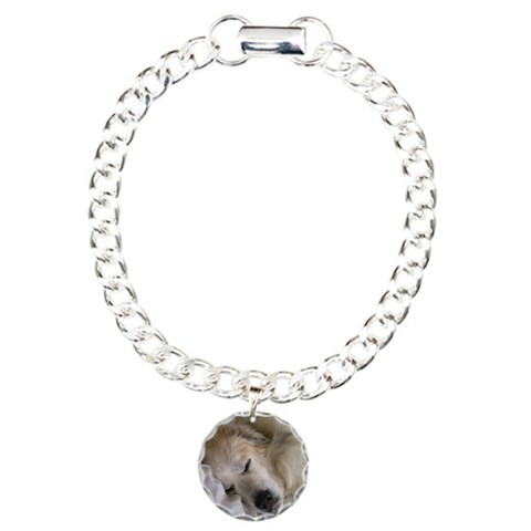Great Pyrenees  Pets Charm Bracelet, One Charm by CafePress