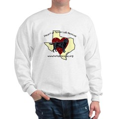 Faithful Friend Black Lab Sweatshirt