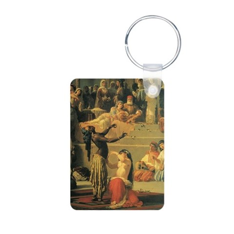 Belly dance Aluminum Photo Keychain by CafePress
