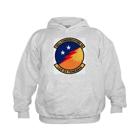 366th Communications  Military Kids Hoodie by CafePress
