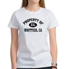 Property of Whittier Women's T-Shirt