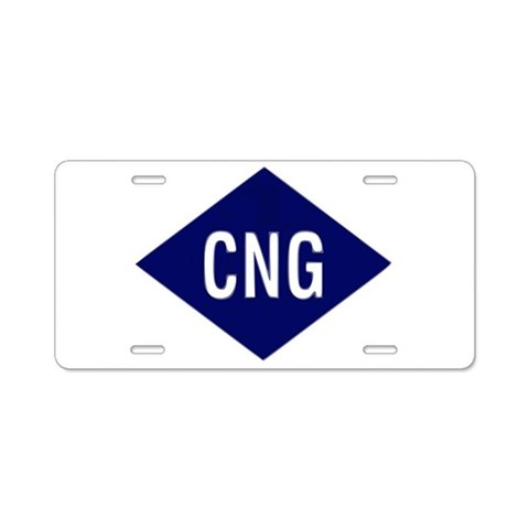 Aluminum License Plate by CafePress