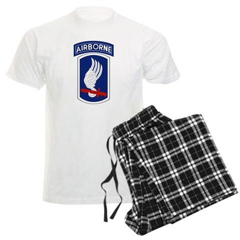 173rd Airborne Bde  Military Men's Light Pajamas by CafePress