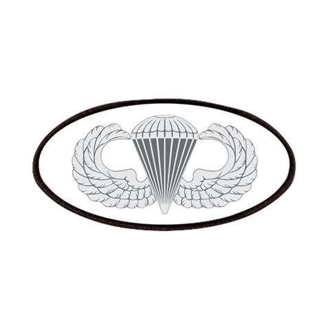 Airborne  Military Patches by CafePress