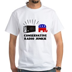 Conservative Radio White T-Shirt
