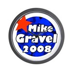 Mike Gravel for President Wall Clock