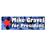 Mike Gravel for President Bumpersticker