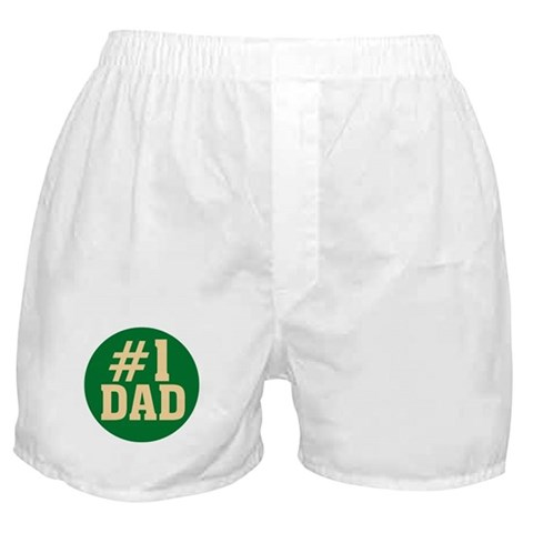 1 Dad  Family Boxer Shorts by CafePress