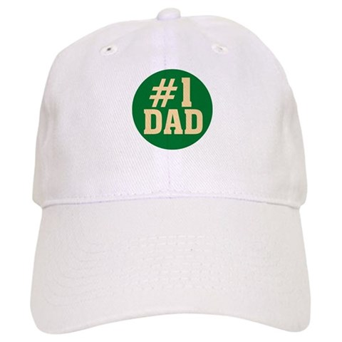 1 Dad  Family Cap by CafePress