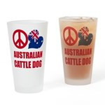 Australian Cattle Dog Drinking Glass