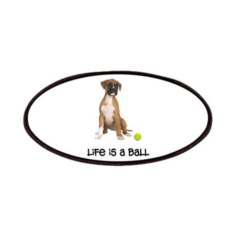 Boxer Life  Pets Patches by CafePress