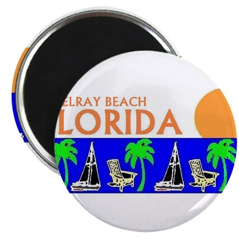 Beach 2.25 Magnet 100 pack by CafePress