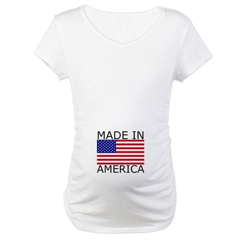 American Flag  Flag Maternity T-Shirt by CafePress