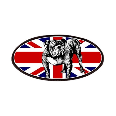 British Bulldog Flag  London Patches by CafePress