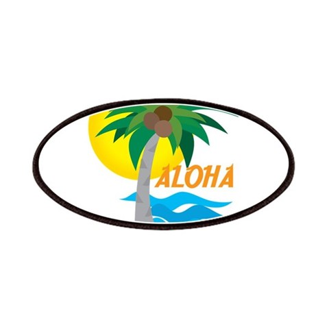 Aloha  Peace Patches by CafePress