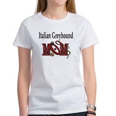 Italian Greyhound Mom Women's T-Shirt