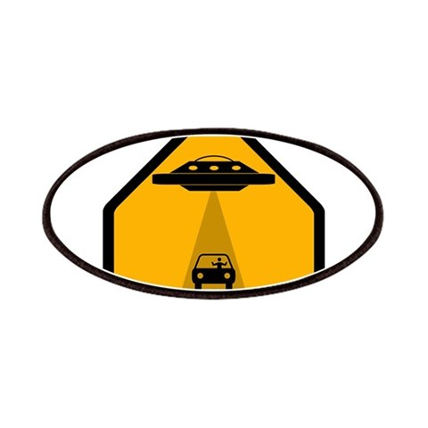 Abduction Zone  Ufo Patches by CafePress
