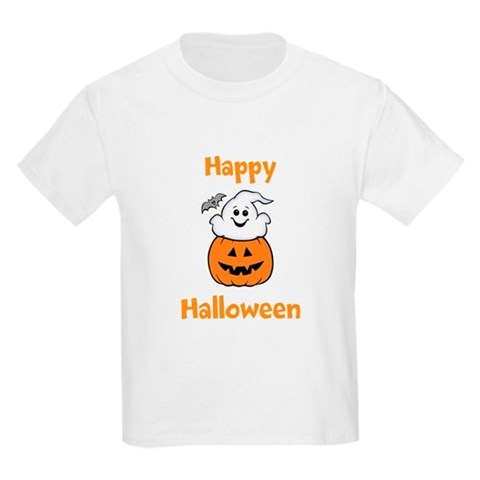 Product Image of [Your text] Cute Halloween Kids Light T-Shirt