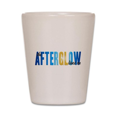 Afterglow  Tv Shot Glass by CafePress