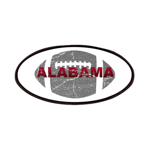 Alabama Football  Sports Patches by CafePress