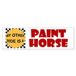 My Other Ride Is A Paint Horse Bumpersticker