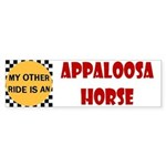 Appaloosa Horse Bumper Sticker