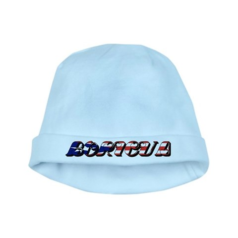 Boricua  New york baby hat by CafePress
