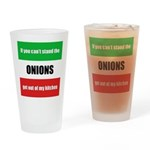 Onion Lover Drinking Glass