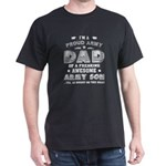 Dad Of Freaking Awesome T Shirt, Army Son T-Shirt